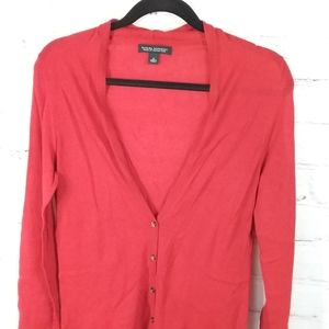 Banana Republic Cardigan | Red